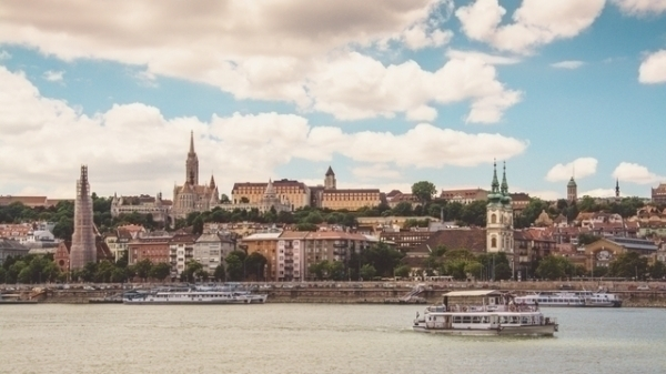 Riverbanks of Danube